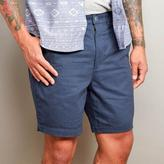 Blade + Blue Navy Blue Cotton Twill Shorts
