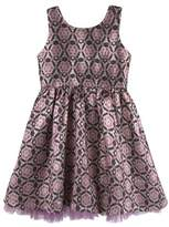 Andy & Evan Infant Girl's Brocade Party Dress