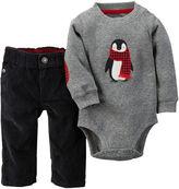 Carter's Bodysuit and Corduroy Pants - Baby Boys newborn-24m