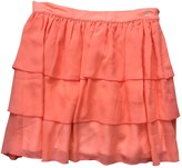 Sonia Rykiel Orange Silk Skirts