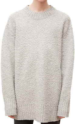 Maison Margiela Men's Oversized Wool Crewneck Sweater