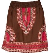 Ethnic Smocked Skirt