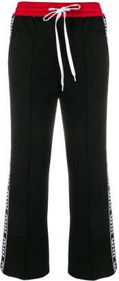 Miu Miu Side Logo Track Pants