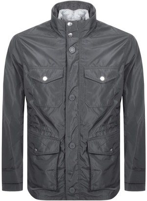 Armani Exchange Logo Cabin Jacket Grey