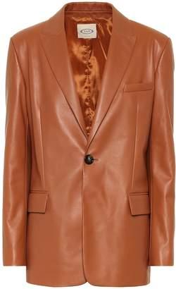 Tod's Leather blazer