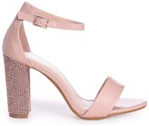 Linzi KENSEY - Nude Nappa Barely There With Diamante Heel
