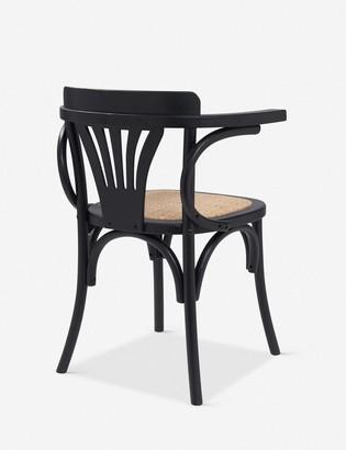 Lulu & Georgia Corey Dining Arm Chair, Black