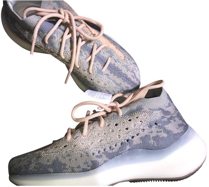Yeezy X Adidas Boost 380 Grey Cloth Trainers