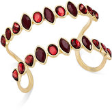 INC International Concepts Gold-Tone Parallel Crystal Cuff Bracelet, Only at Macy's