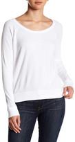 Chaser Back Crossover Cutout Long Sleeve Sweatshirt