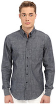 Naked & Famous Denim Slim Lightweight Chambray Shirt