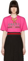 Gucci Pink Bow Logo T-shirt