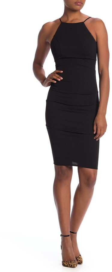 Thumbnail for your product : Jump Ruched Crepe Sheath Dress