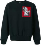 Versace sculpture print sweatshirt