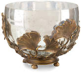 "John-Richard Collection 11"" Ginkgo Accent Bowl - Brass"