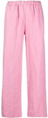 Aspesi Straight-Cut Linen Trousers