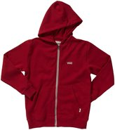 Vans Basic Zip Hoodie II (Kid) - Chili Pepper-X-Large