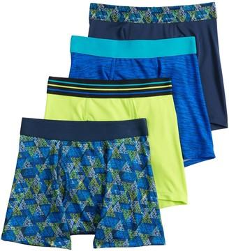Tek Gear Boys 8-20 & Husky 4-pk Performance Underwear