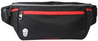 Alexander McQueen Oversize Double Zipper Belt Bag