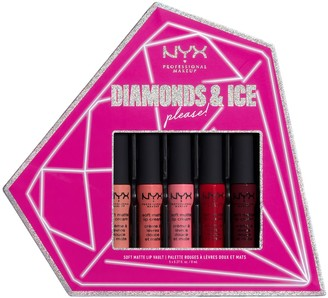 NYX Diamonds & Ice Please! Soft Matte Lip Cream Vault