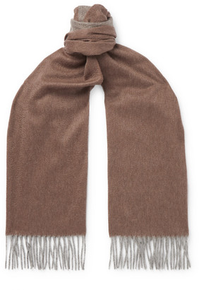 Emma Willis Cashmere Scarf - Brown