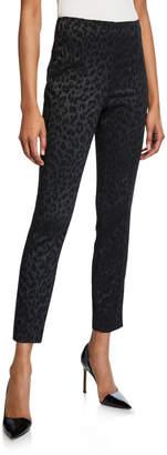 Veronica Beard Honolulu Leopard Print Pants