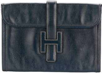 Hermes Pre-Owned Jige clutch