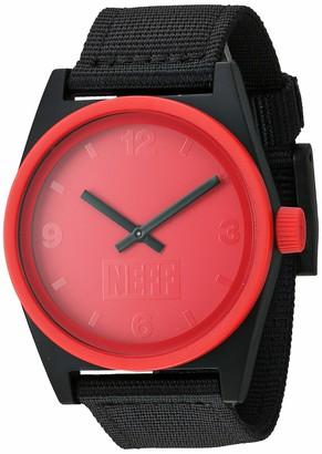 Neff Men's Analog-Quartz Sport Watch with Nylon Strap
