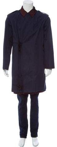 Dries Van Noten Layered Trench Coat
