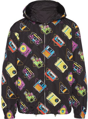 Prada reversible Maxi Digital lightweight jacket