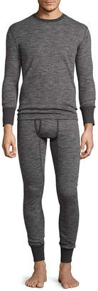 Fruit of the Loom Premium Soft Tec Crew Long Sleeve thermal Shirt