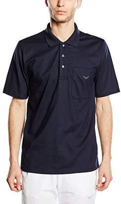 Trigema Men's 637602 Polo Shirt, (Black 008), XXXXX-Large