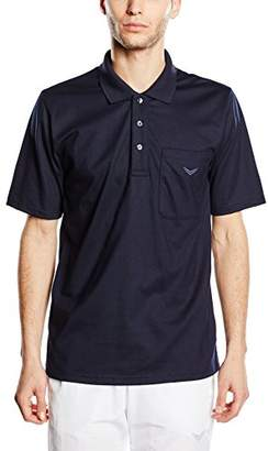 Trigema Unisex Polo Shirt Black