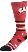 NCAA Women's Wisconsin Badgers Razzle Knee-High Socks