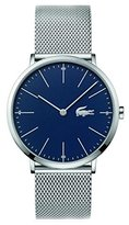 Lacoste Men's 'MOON' Quartz Stainless Steel Casual Watch, Color:Silver-Toned (Model: 2010900)