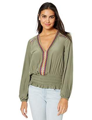 Ramy Brook Women's Long Sleeve Jude TOP