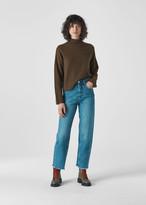Soft Roll Neck Wool Sweater