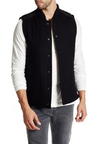 Kenneth Cole New York Quilted Snap Button Vest