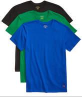 Polo Ralph Lauren Men's 3-Pack. Cotton Crew T-Shirts