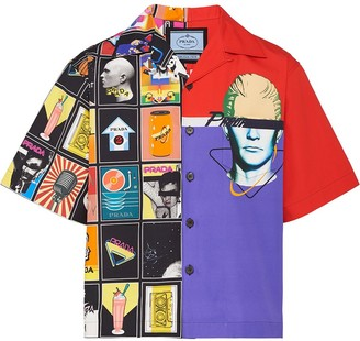 Prada Double Match bowling shirt