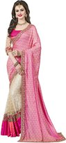 CRAZYBACHAT Crazy Bachat Women Silk & Net Wedding Saree Baby