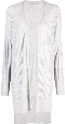 Dusan ribbed knit longline cardigan