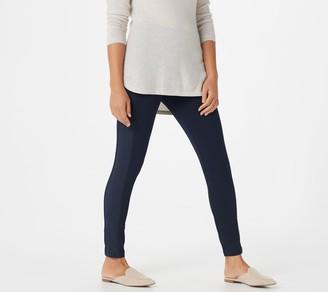 Susan Graver Regular Weekend Premium Stretch Leggings