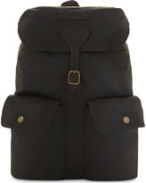 Barbour Beaufort canvas backpack