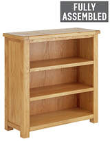 Heart of House Kent Small Oak & Oak Veneer Bookcase
