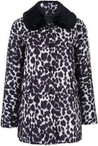 Marc Jacobs leopard print coat - women - Polyester/Cupro - 0