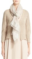 Fabiana Filippi Mixed Weave Cotton Blend Cardigan