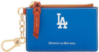 Dooney & Bourke MLB Dodgers Zip Top Card Case