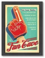 Americanflat Anderson Design Group ''Fan Cave'' Framed Wall Art
