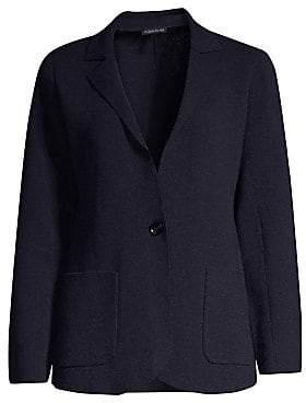 Eileen Fisher Women's Notch Collar Cardigan